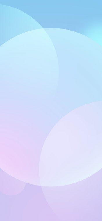 white circle wallpaper