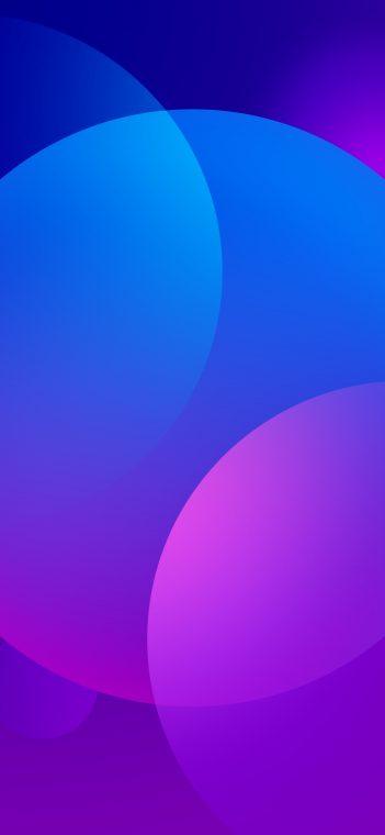 oppo 11 pro bluish purple wallpaper