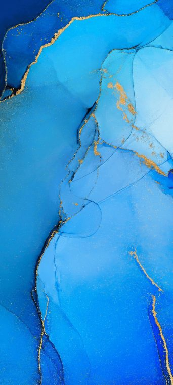 oppo reno 3 pro blue abstract wallpaper