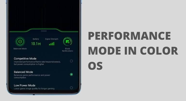 Color OS Performance Mode