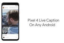 Pixel 4 Live Caption