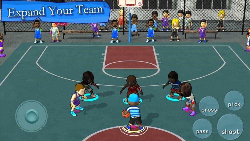 Street Basketball Association gameplay