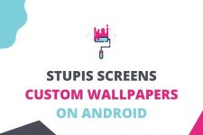 stupis screen wallpaper creator