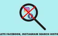 delete history facebook instagram