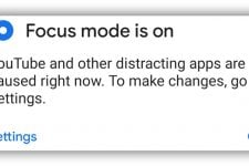focus mode android