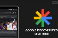 google discover dark mode