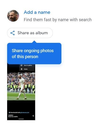 google photos rename web