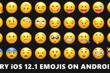 ios 12.1 emojis