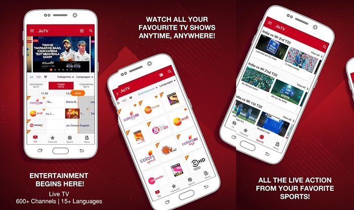 jio tv streaming app