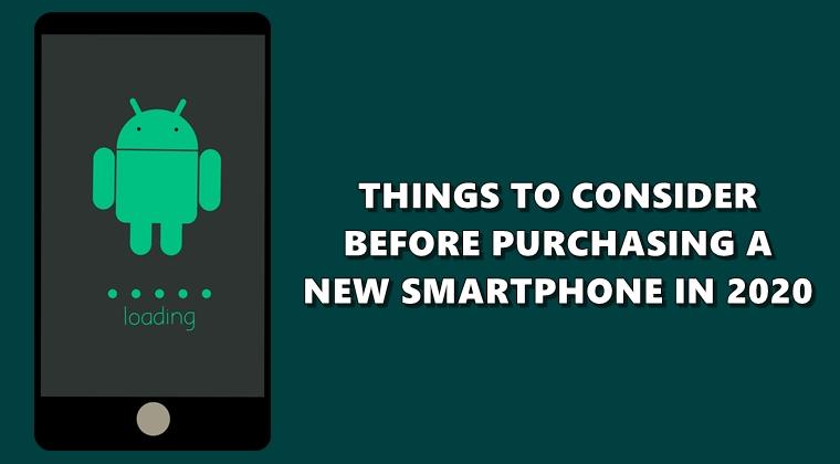 buying new smartphone