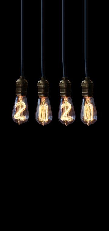 new year 2020 bulb wallpaper