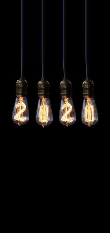 new year 2020 bulb wallpaper