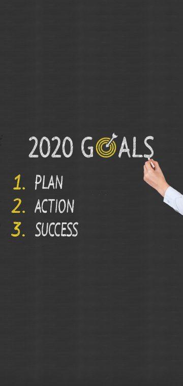 new year 2020 goals wallpaper