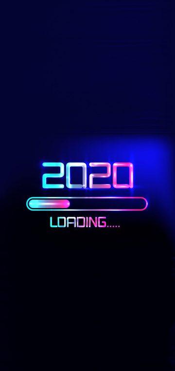 new year 2020 digital wallpaper