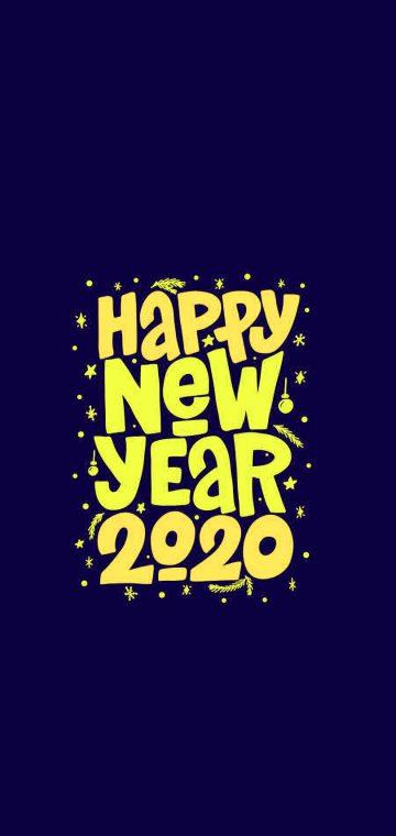 new year 2020 punk art wallpaper