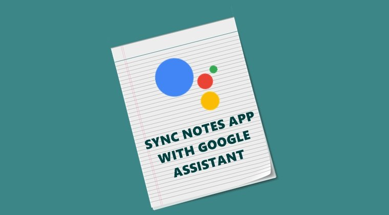 sync notes with assistant