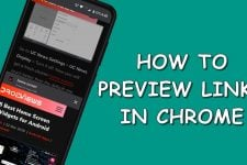 preview links in chrome