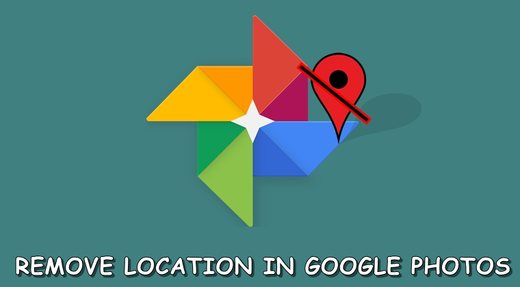 remove location from google photos