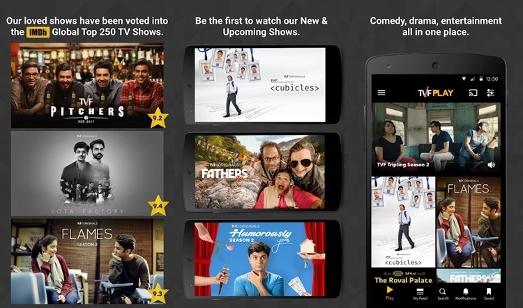 tvf tv streaming app