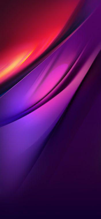 Vivo iQOO Pro red purple wallpaper