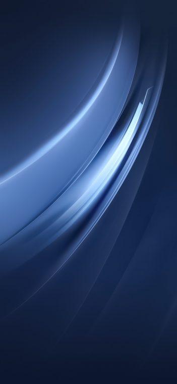 Vivo iQOO Pro light bluewallpaper