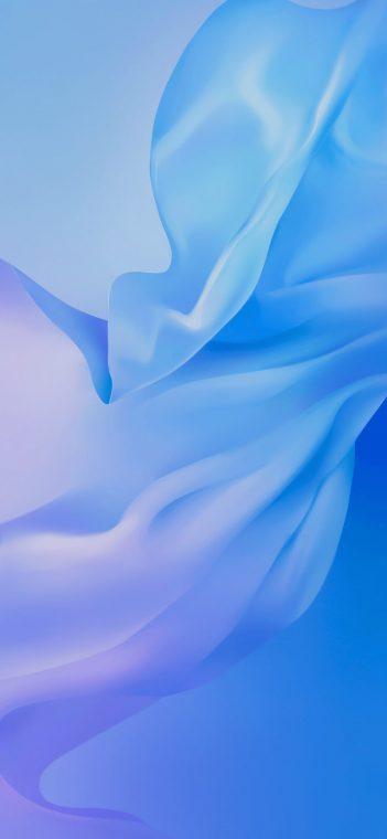vivo v17 light blue wallpaper