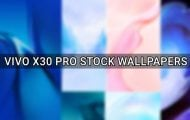 vivo x30 pro stock wallpapers