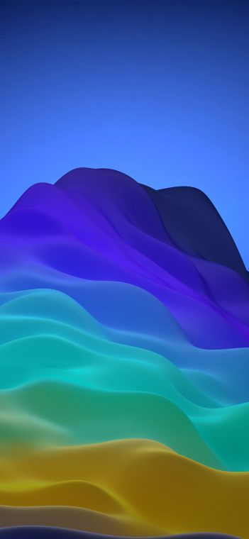 ZTE MiFavor 10 blue green wallpaper