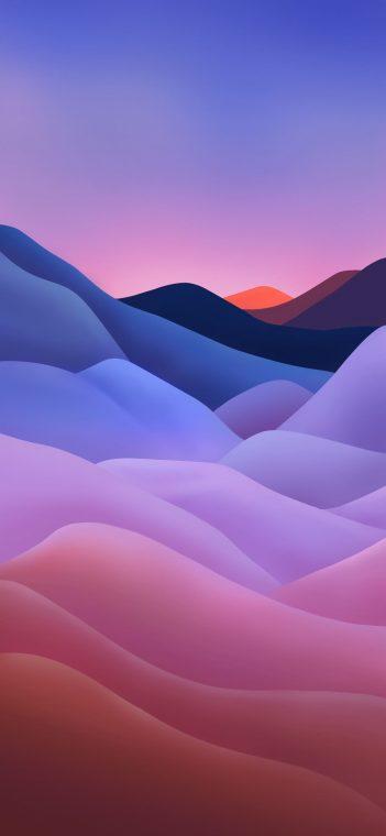 ZTE MiFavor 10 purple wallpaper