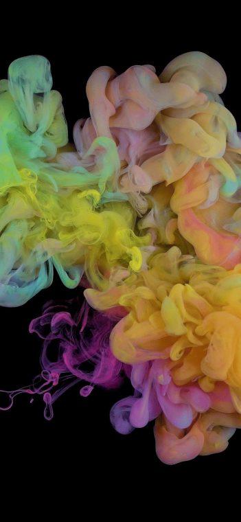 ZTE MiFavor colorful smoke 10 wallpaper