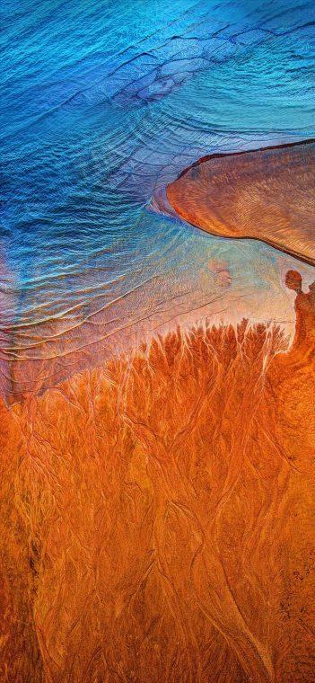 ZTE MiFavor 10 dolden beach wallpaper