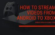 stream videos to xbox