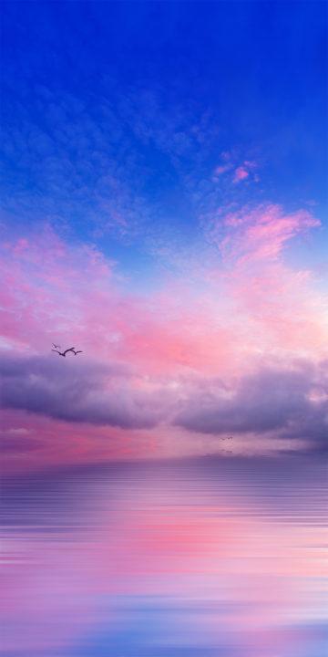 lg q7 magical sky wallpaper