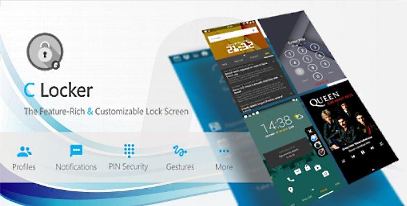 c lock screen launcher