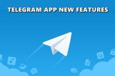 new features telegram