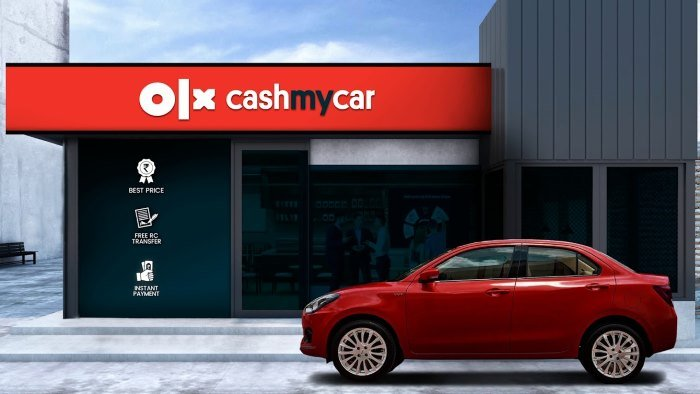 olx cashmycar is a new car finder app