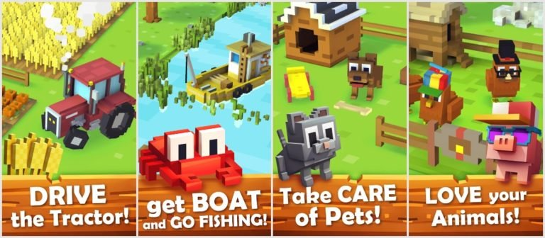 Best Farming Simulator Games On Android: Blocky Farm