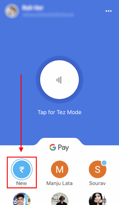 pay credit card bill google pay