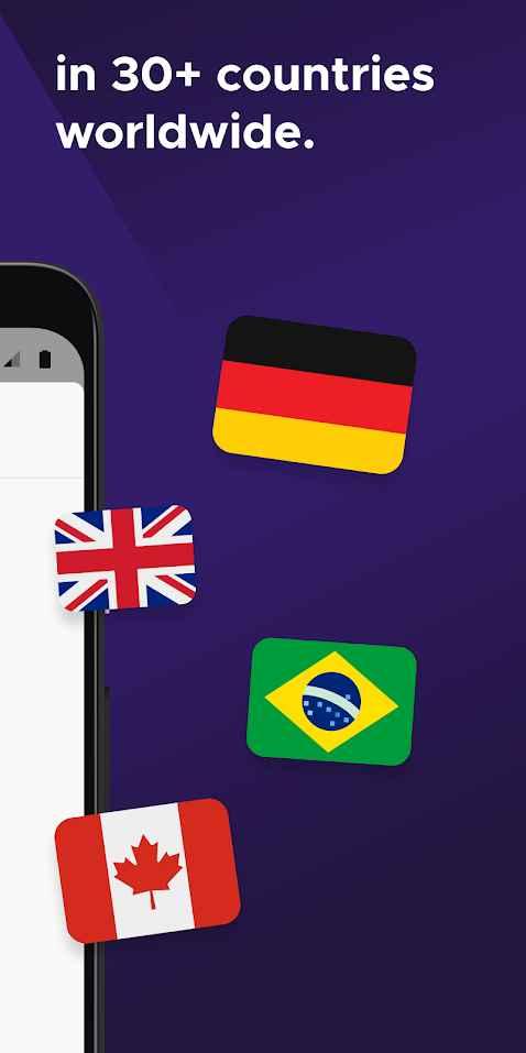 Mozilla VPN countries