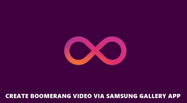 boomerang samsung gallery