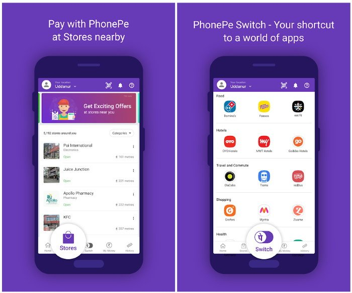 Phone Pe UPI for Android