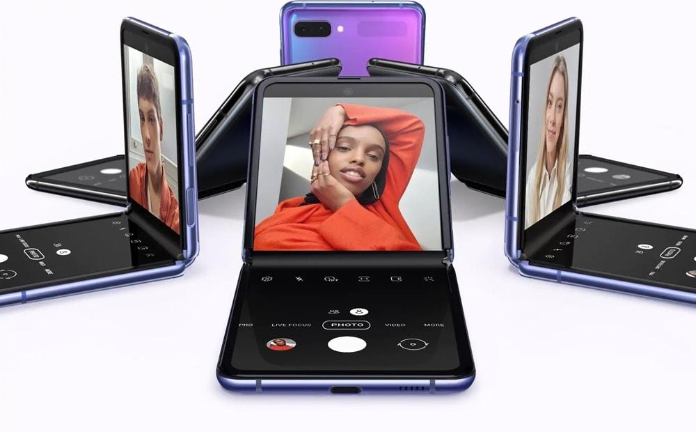 Samsung Galaxy Z Flip design