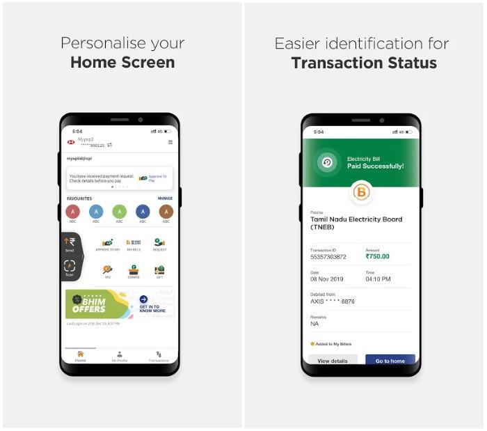 setup BHIM UPI app for android