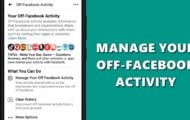 manage facebook activity