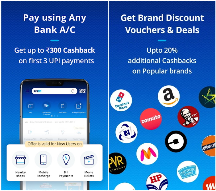 Paytm UPI for new user