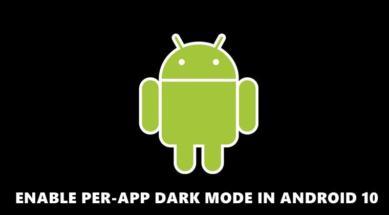 per-app dark