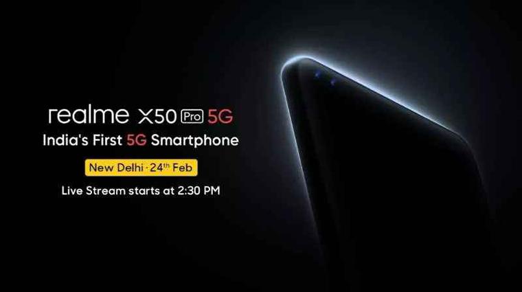 realme x50 pro 5G launch date & specs
