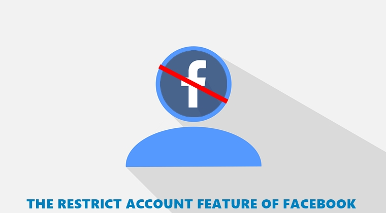 restrict account facebook