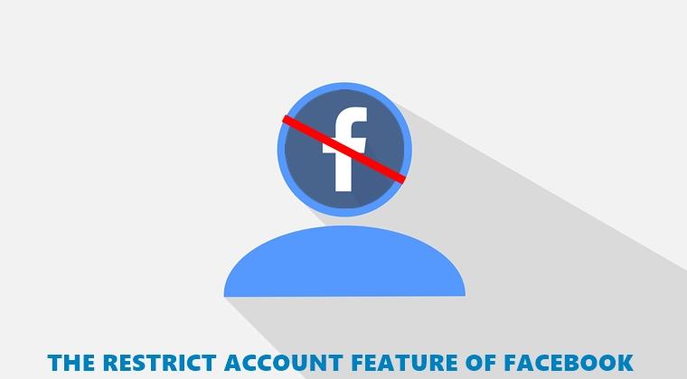 restrict account facebook