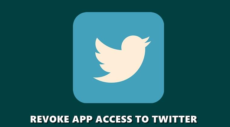 revoke access twitter